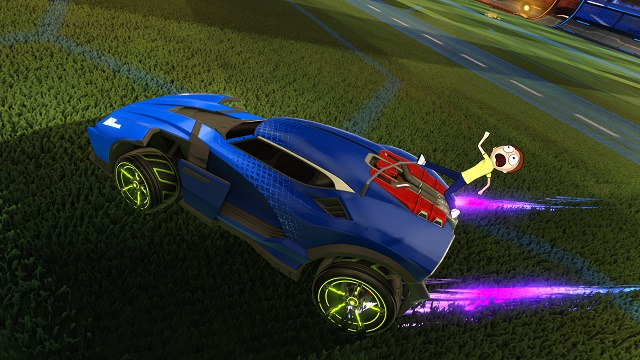 Rick and Morty invade Rocket League and other games