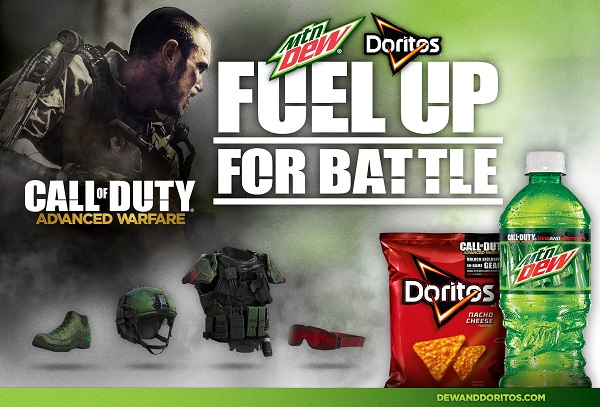 Mountain Dew & Doritos to give Call of Duty: Advanced Warfare gamers Supply Drops