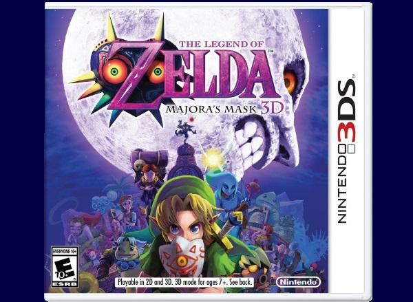 The Legend of Zelda: Majora's Mask set to make 3D debut