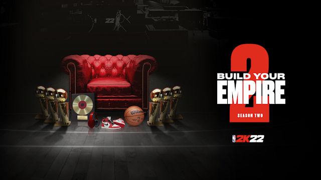 NBA 2K22 will build an empire