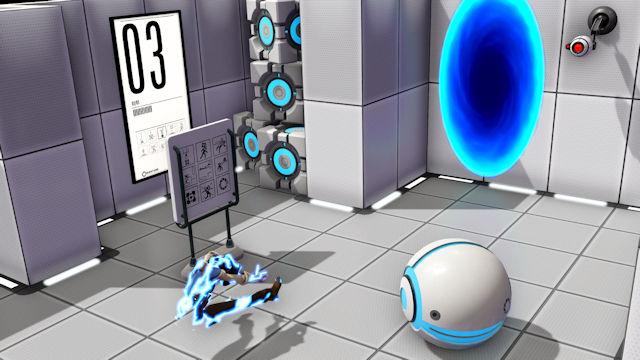 Portals opening in Evil Genius 2