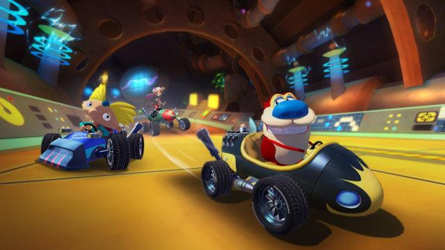 Nickelodeon Kart Racers 2 races into release