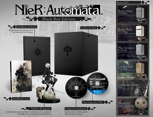 NieR: Automata release date and collector editions revealed