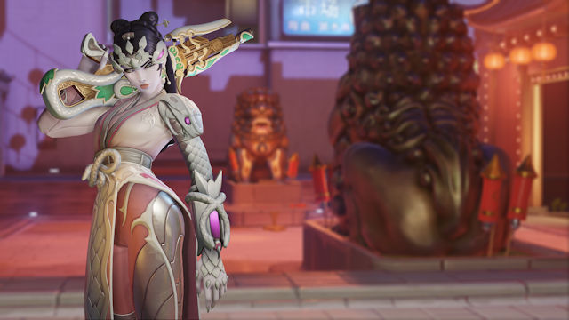Overwatch celebrating Lunar New Year 2021