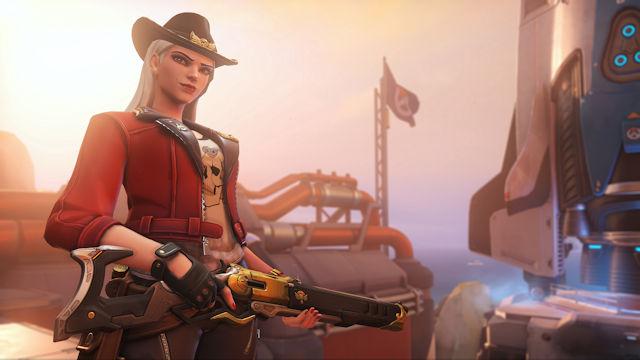 Overwatch issues Ashe's Deadlock Challenge