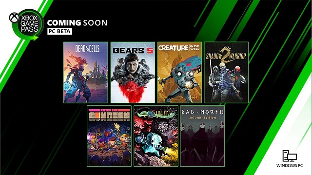 Xbox Game Pass PC games coming in September announced