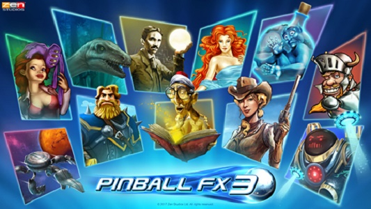 Pinball FX3 drops this summer