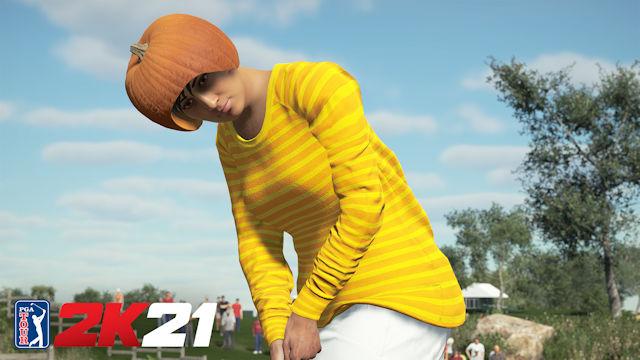 PGA TOUR 2K21 drops Halloween gear