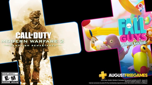 Play Modern Warfare 2 Campaign Remastered and Fall Guys for free in August