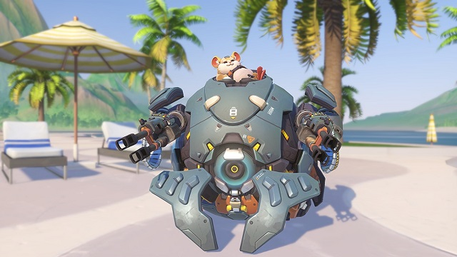 Wrecking Ball rolled out onto Overwatch PTR