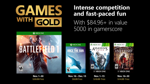 Battlefield 1 coming to Games with Gold