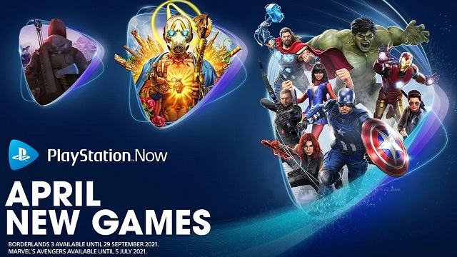 New PlayStation Now games for April 2021 revealed