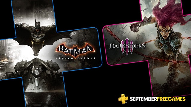 A Dark Knight and a Darksider will be free to PlayStation Plus gamers in September