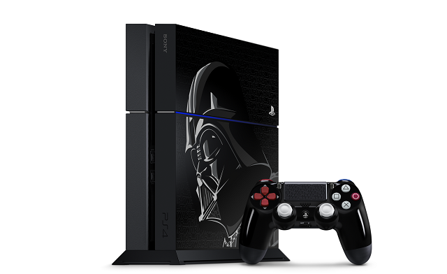 Darth Vader PS4 console Force Leaping into stores this fall
