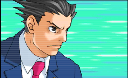 Phoenix Wright takes his first case again
