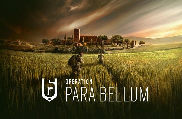 Operation Para Bellum for Rainbow Six Siege revealed