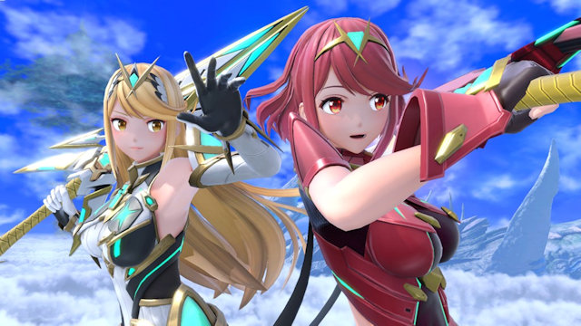 Pyra/Mythra joins Super Smash Bros. Ultimate