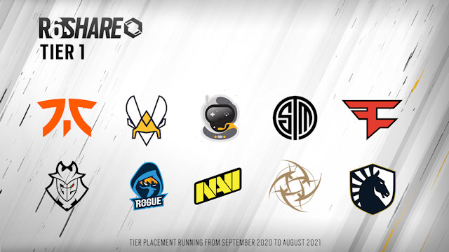 42 teams selected for R6 Share revealed