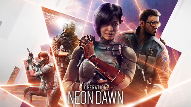 Rainbow Six Siege launches Neon Dawn and dawns on new consoles