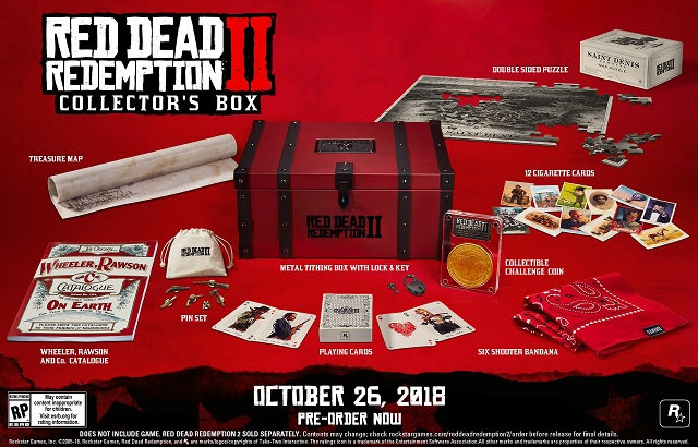 Red Dead Redemption 2 collector's editions and pre-order bonuses revealed