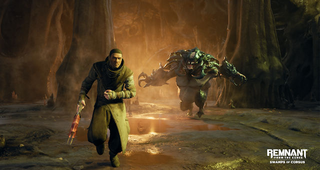 Remnant: From the Ashes swamps consoles