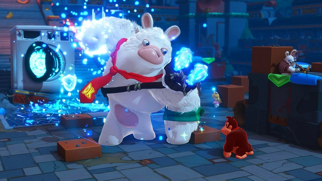 Donkey Kong joins the Rabbids