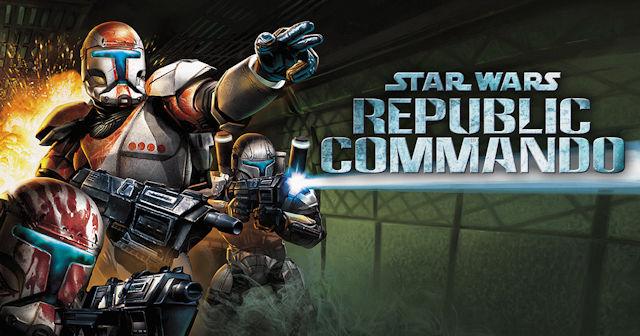 Star Wars Republic Commando deployed
