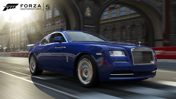 Forza Motorsport 5 rolls out a Rolls-Royce Wraith