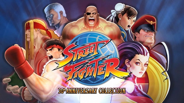 Street Fighter 30th Anniversary Collection punches into release