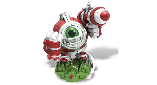 Skylanders hanging out the Missile-Tow this holiday season