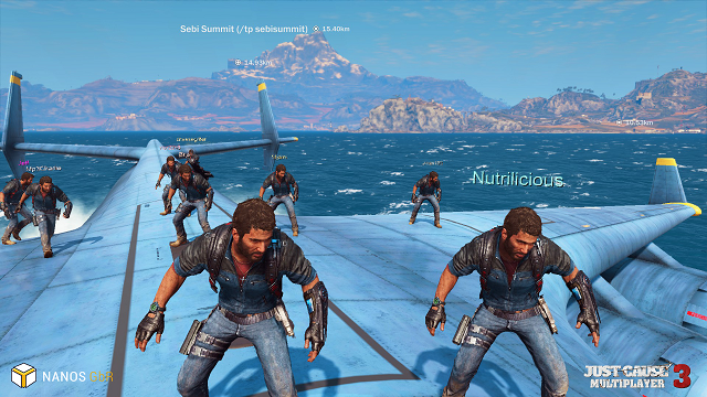 Just Cause 3 adds multiplayer mod on PC