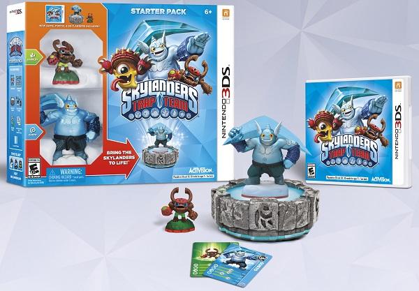 More details on Skylanders Trap Team for 3DS revealed