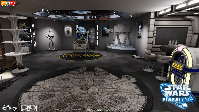 Star Wars Pinball VR comes to our galaxy