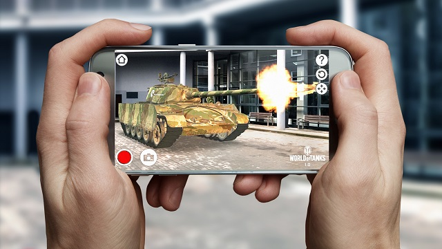 World of Tanks AR released