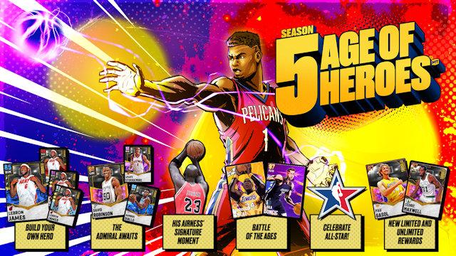 NBA 2K21 launches Season Five of MyTEAM