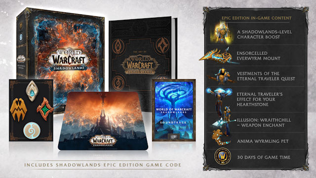 Shadowlands Collector's Edition revealed
