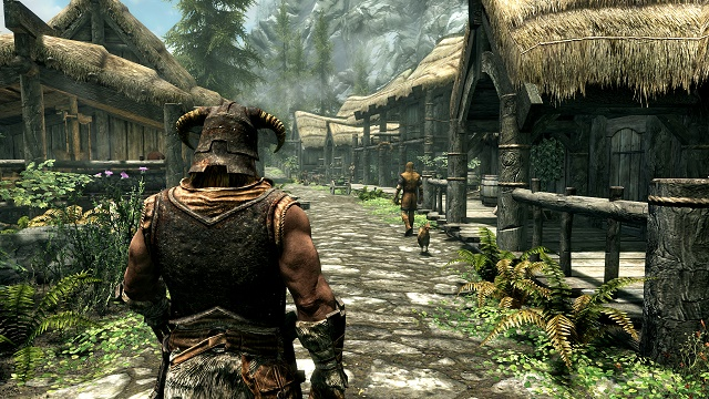 Skyrim Special Edition now available