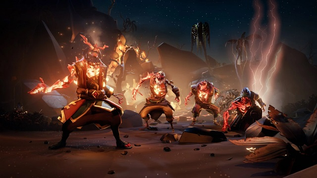 Ashen Lords arrive in Sea of Thieves