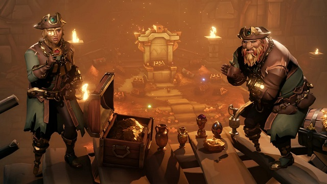 Lost Treasures found in Sea of Thieves