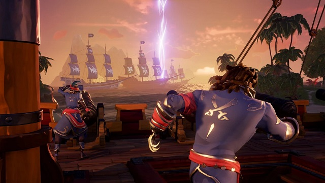 Ships of Fortune sighted heading towards Sea of Thieves