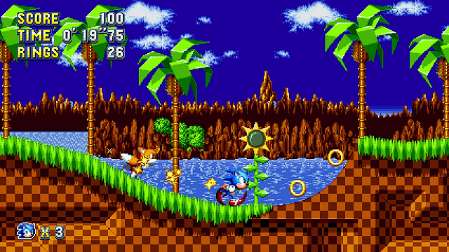 Sonic Mania running towards an August release