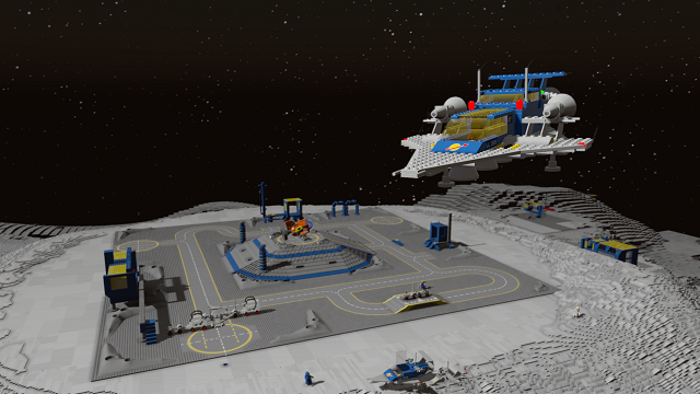 LEGO Worlds blasting off to Classic Space