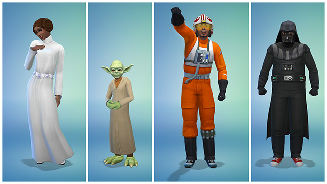The Sims are going Star Wars
