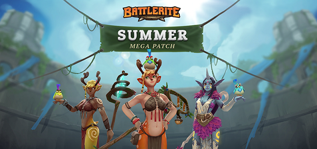 Battlerite update adding new champion
