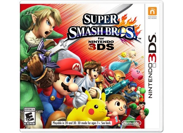 Super Smash Bros. hits 3DS on Friday