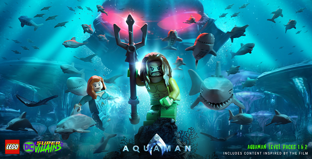Aquaman joining LEGO DC Super-Villains