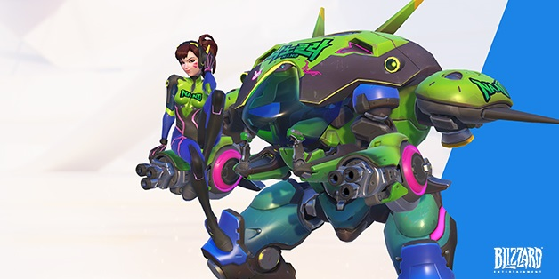 D.Va launches her Nano Cola Challenge