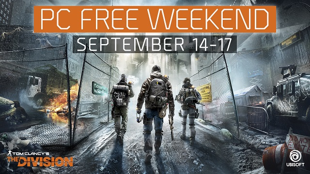 The Division hosting a free play weekend