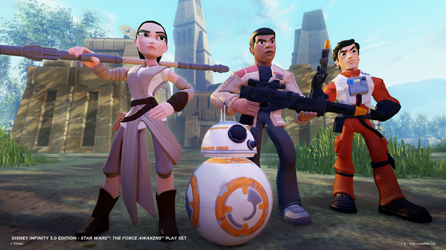 The Force Awakens in Disney Infinity