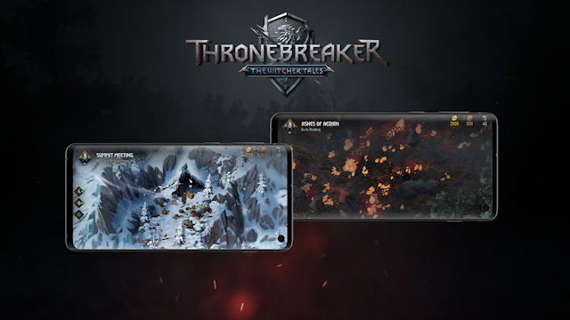 The Witcher Tales: Thronebreaker launches on Android